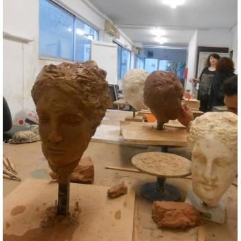ΓΛΥΠΤΙΚΗ Σχολή Καλών Τεχνών Βοργίας | Μαθήματα Ζωγραφικής Παλαιό Φάληρο-Αθήνα